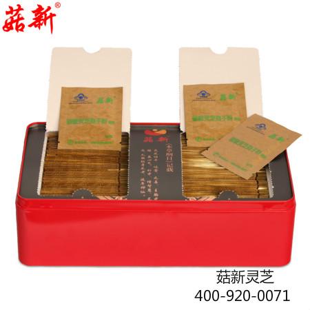 菇新灵芝孢子粉铁盒装